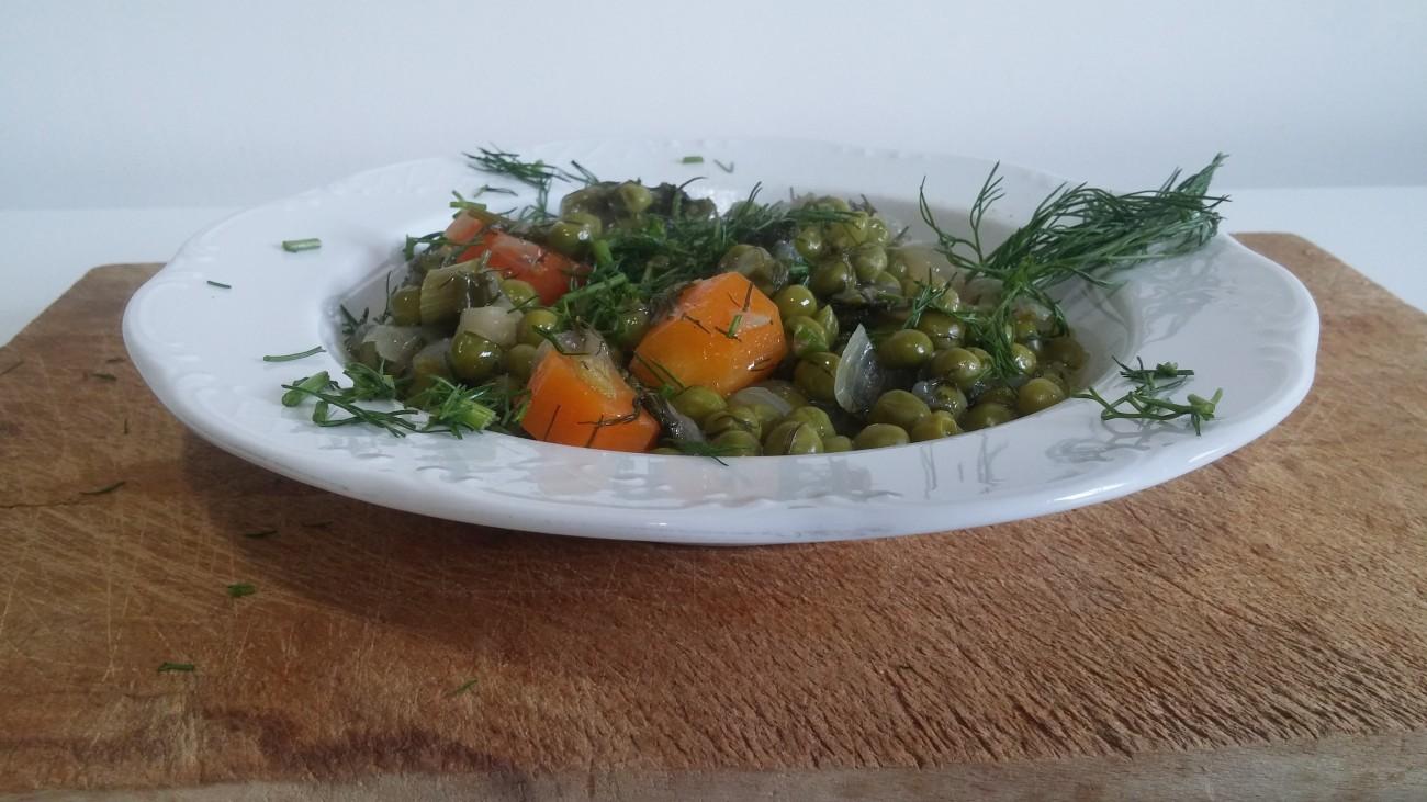 Αρακάς με λαχανικά